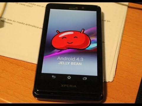 actualizar android 4.3 sony xperia t