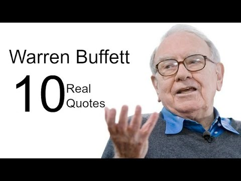 Warren Buffett 10 Real Life Quotes on Success | Inspiring | Motivational Quotes