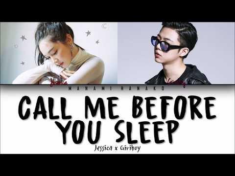 {VOSTFR/HAN/ROM} Jessica (Ft. GIRIBOY) – Call Me Before You Sleep (잠들기 전 전화해) (Color Coded Lyrics가사)