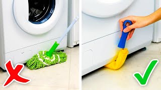 26 CLEANING HACKS FOR HARD-TO-REACH PLACES