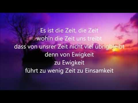 Keine Zeit- T Bendzko (Lyrics)