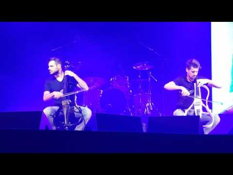 2CELLOS With or Without You Soa Paulo Live