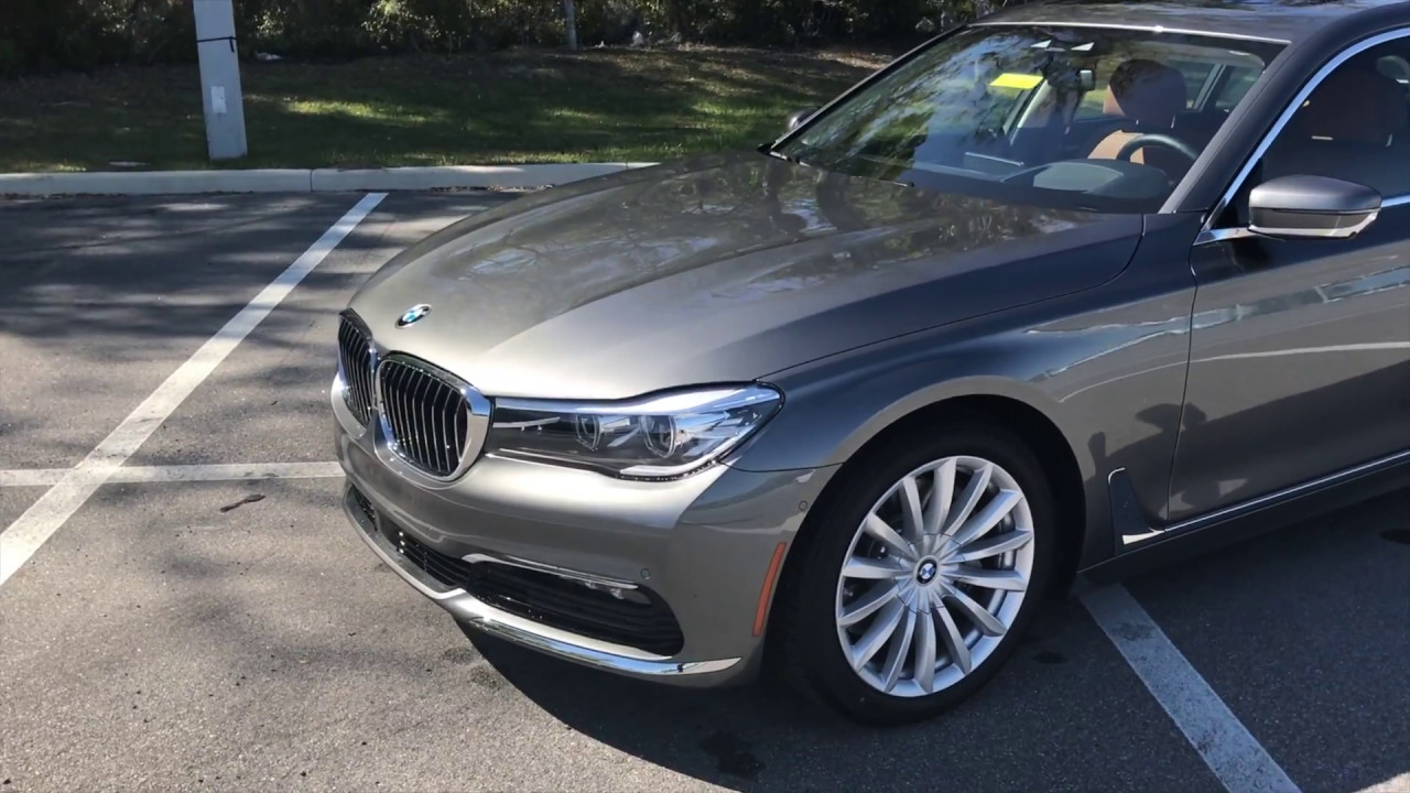 medium resolution of 2017 bmw 740i gray bmw review bmw of ocala luxury car 19in wheels