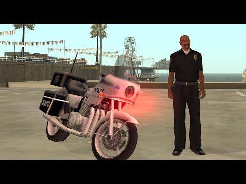 Officer Carl Johnson Completes The Mission Badlands - Badlands Mission 1 - GTA San Andreas