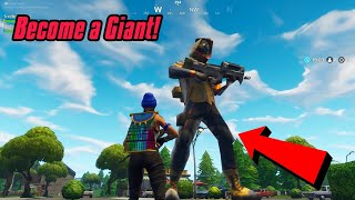 Become A Giant Glitch In Fortnite (New) Fortnite Glitches PS4/Xbox one 2018