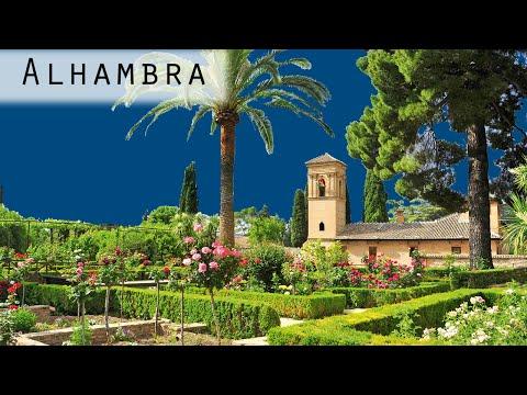 4K - Gardens of the Alhambra (Spain 2015)