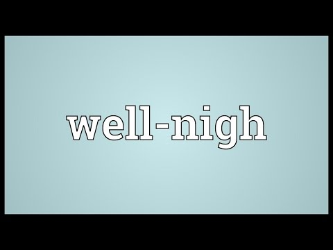 Well-nigh Meaning