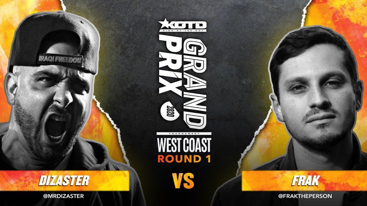 Download KOTD - Rap Battle - Dizaster vs Frak   #GP2020 R1