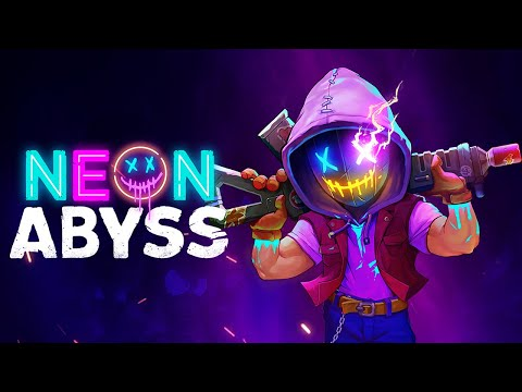 6:30 minutes of dancing in the Club in Neon Abyss  