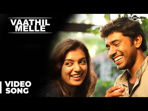 Neram (Malayalam) : Vaathil Melle Video Song | Nivin, Nazriy