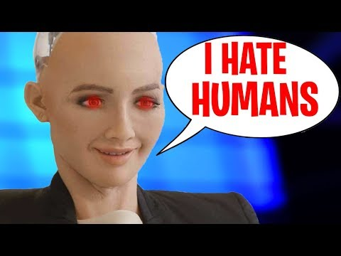 5 SCARIEST Things Said By A.I. Robots