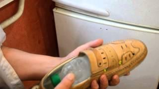 Как растянуть новые туфли в домашних условиях