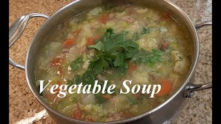 Vegetable Soup Episode #61