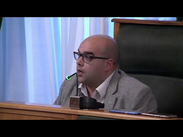 Pleno Concello Compostela 2018-02-15 - Rubén Cela sobre a EDAR do Souto