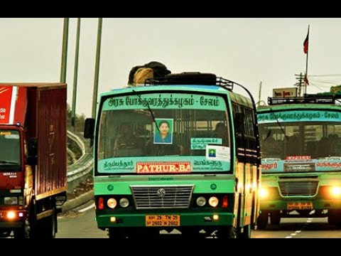 TNSTC AND SETC BUS TAMIL NADU STATE TRANSPORT CORPORATION BU