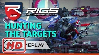 Target Hunt Match - RIGS: Mechanized Combat League Gameplay