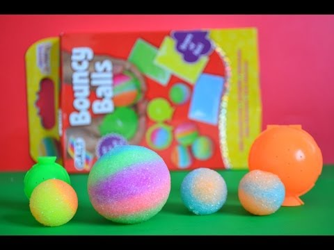 Rainbow Bouncy Balls How To Make Your Own Creative Fun Colorful Bouncy Balls Loads Of Fun WOW