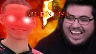NAIRO TRIES TO KILL ME (Resident Evil 5 Co-Op)