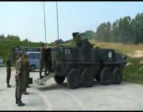 Piranha 8x8 in Urnäsch - swiss army (part1)