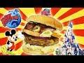 Mac and Cheese BURGER de Planet HOLLYWOOD en DISNEYLAND!