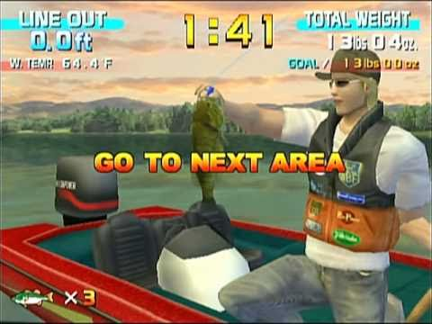 I's Be Playing Some Sega Bass Fishing (Wii Version)