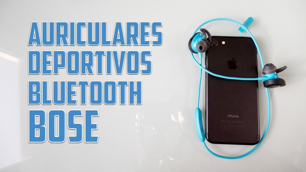 e00b5ba4be1 Auriculares deportivos Bose Soundsport Wireless con bluetooth - YouTube