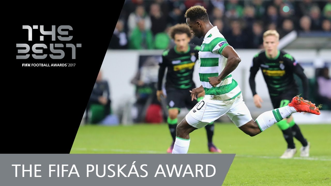 Moussa DEMBELE FIFA PUSKAS AWARD 2017 NOMINEE VOTING CLOSED