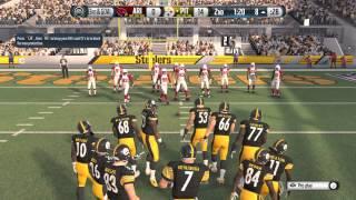 Madden NFL 16 - Cardinals vs Steelers FULL MATCH (60fps 1080p) | EA Access
