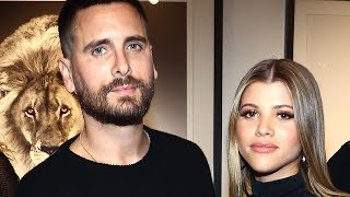 Sofia Richie HINTS Her & Scott Disick Are LIVING Together!