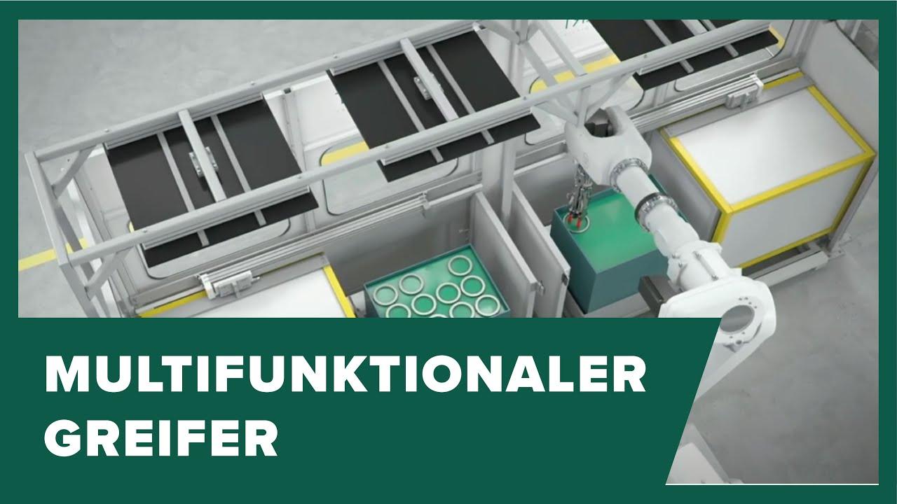 Wickert multifunctional gripper improves automated workpiece handling