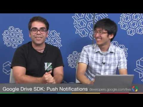 Google Drive SDK: Push notifications