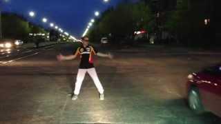 Танец на дороге Ангарск