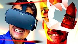 o MELHOR JOGO de VR || Jogando com Damiani - SuperHot VR