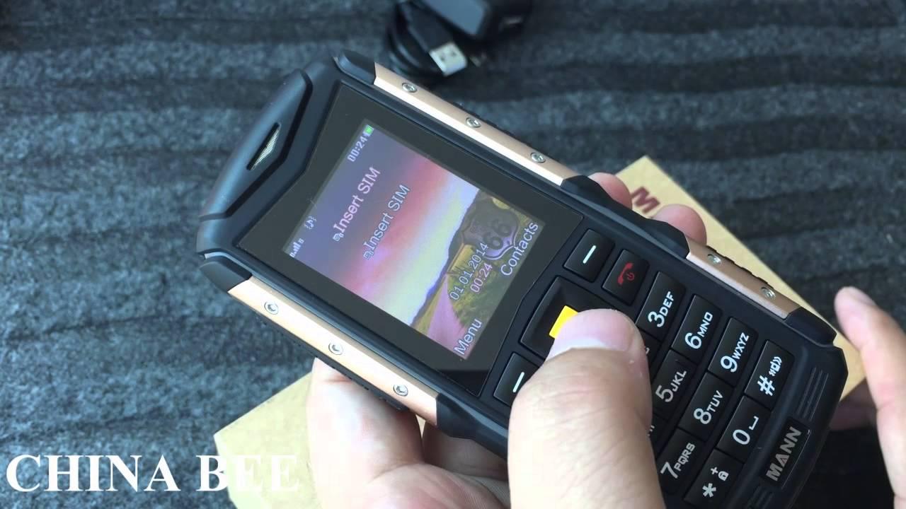 Mann Zug S Ip67 Waterproof Rugged Phone Dustproof