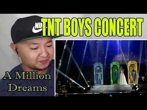 TNT Boys Concert , A Million Dreams | Kickers Reaction