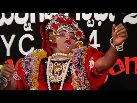 Yakshagana -- Chandrashekara dharmasthala as Abhimanyu - 2
