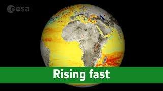 Rising fast