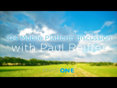 Education | IQ4 Mobile Platform discussion with Paul Reiffer | Phase One