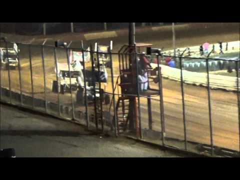 AJ Flick 410 Sprint Lincoln Speedway Dirt Classic September 26, 2015 - dirt track racing video image