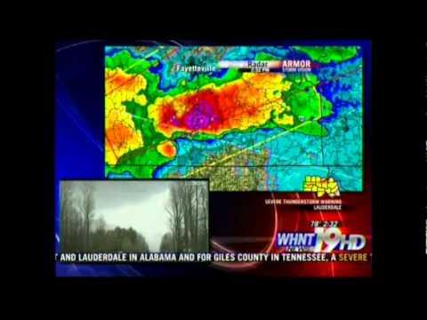 WHNT 19 Tornado Coverage - 3/2/12 2-4 p.m.
