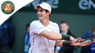 Radek Stepanek v Andy Murray Highlights - Men