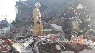 Разрушительные последствия от взрыва бытового газа в Тимашевске