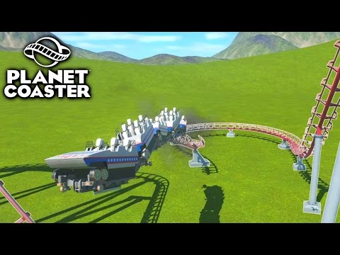 CUSTOM ROLLERCOASTER GONE WRONG - PLANET COASTER #2
