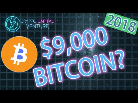 Can Bitcoin Break $9,000 In 2018? BTC Prediction
