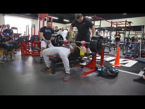THE MOST WEIGHT LIFTED AT ZOO CULTURE!!