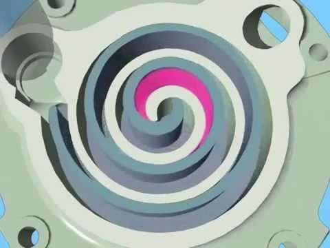 Compressor Scroll Inverter Mp4 Youtube