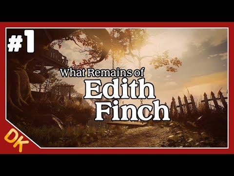에디스 핀치의 유산 #1, 여운이 남는 갓겜... 영상미 끝내주는 (What Remains of Edith Finch) - 똘킹 게임영상