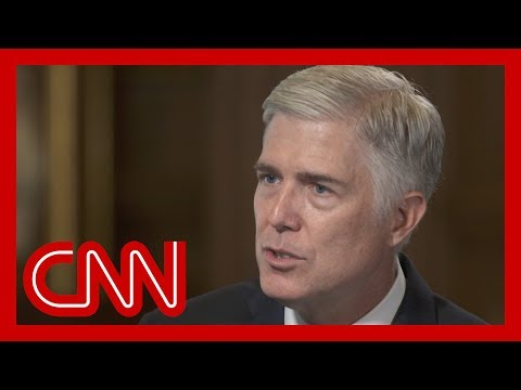 Justice Gorsuch responds
