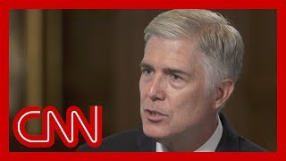 Justice Gorsuch responds to Trump's judiciary attacks in rare interview