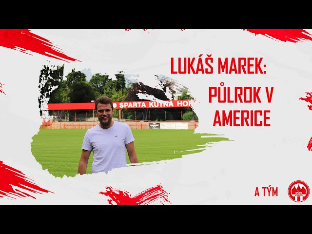 Lukáš Marek - Půlrok v Americe
